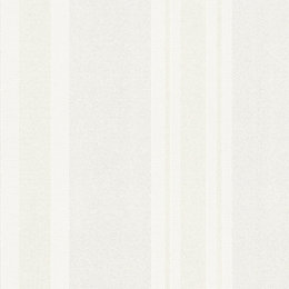 Burlington Cream Striped Glitter Highlight Wallpaper