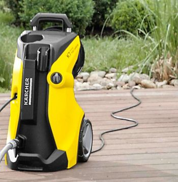 Karcher Premium Full Control Plus Pressure Washer with extension lead