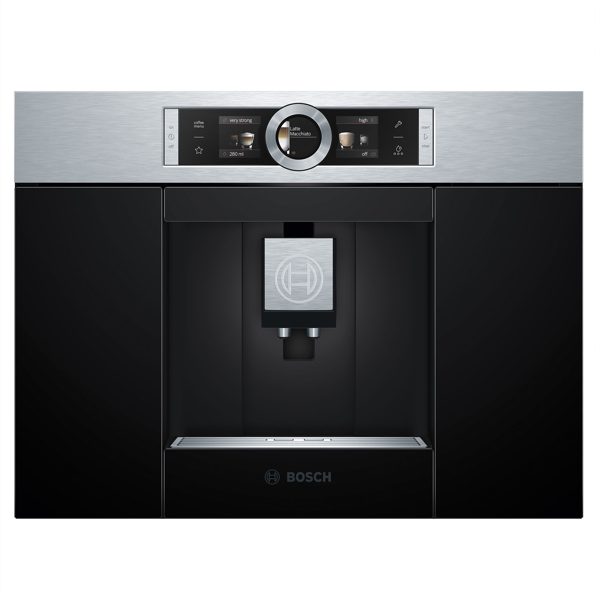 Bosch Coffee Maker Built In : Bosch Built In Coffee Machine, Black Departments DIY at B&Q