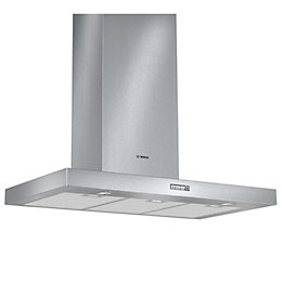 Bosch DWB094W50B Stainless Steel Modern Chimney Cooker Hood,