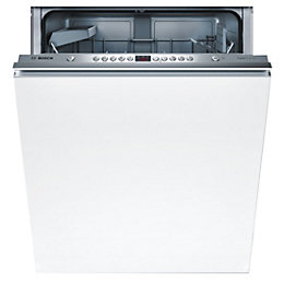 Bosch SMV53M01GB Integrated Full Size Dishwasher, White