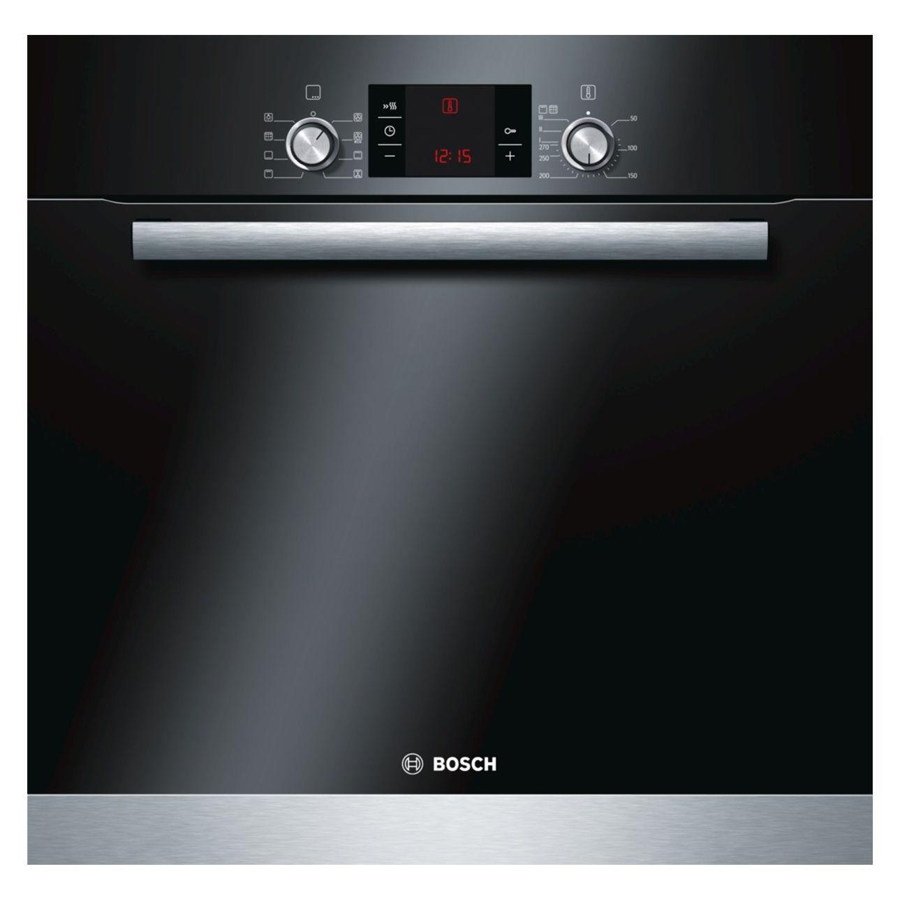 Bosch Hba63b152b Black Electric Pyrolytic Single Oven