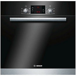 Bosch HBA23B152B Black & Silver Electric Single Oven
