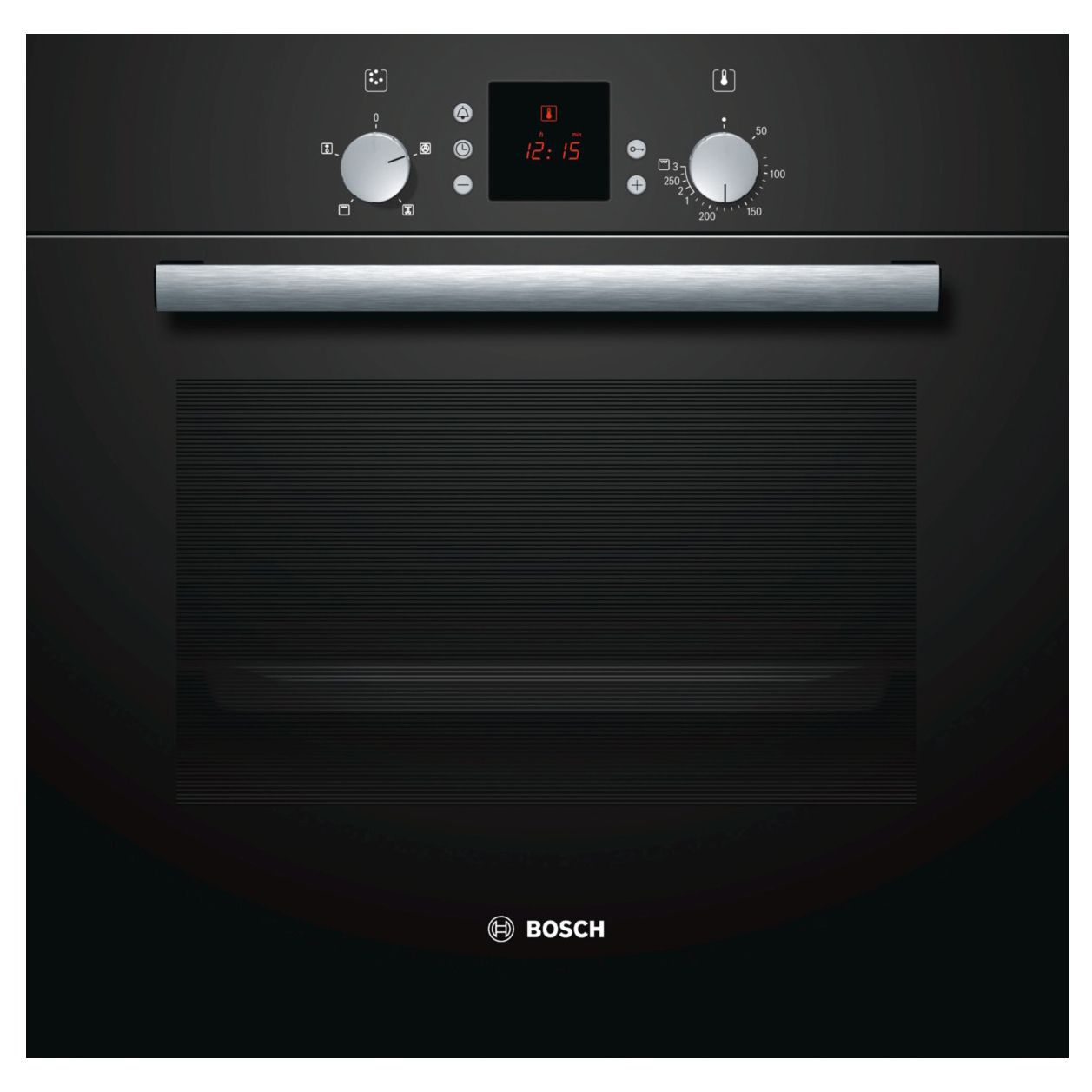Bosch Hbn331s5b Black Electric Single Fan Oven