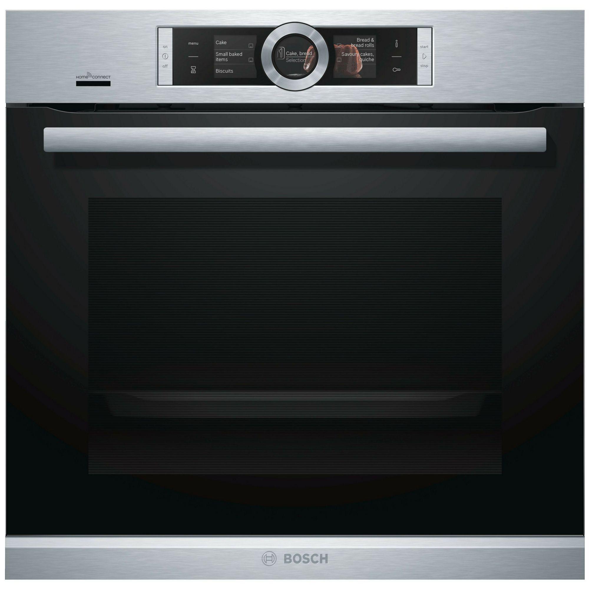 Bosch Hbg656rs6b Black Electric Single Oven