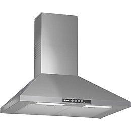 Neff D67B21N0GB Stainless Steel Chimney Cooker Hood, (W)