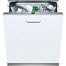 Neff S51L53X0GB Integrated Full Size Dishwasher, White