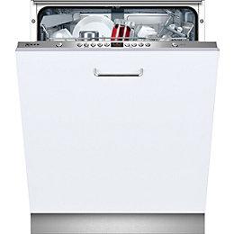 Neff S51M53X2GB Integrated Full Size Dishwasher, White