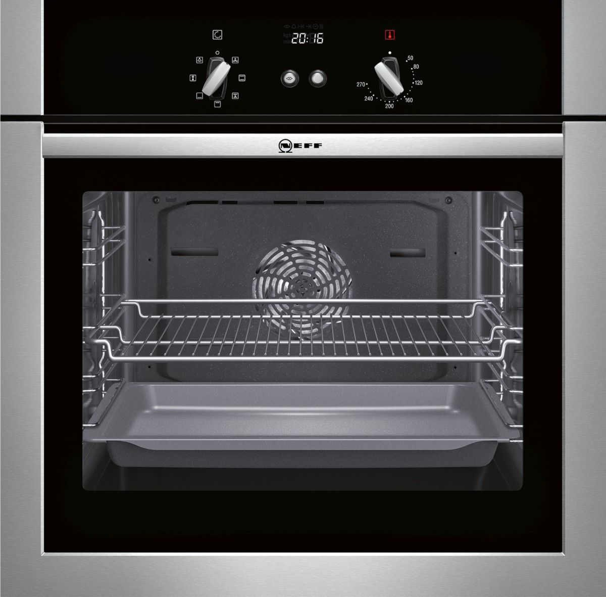 Neff B14m42n5gb Stainless Steel Effect Electric Single Oven