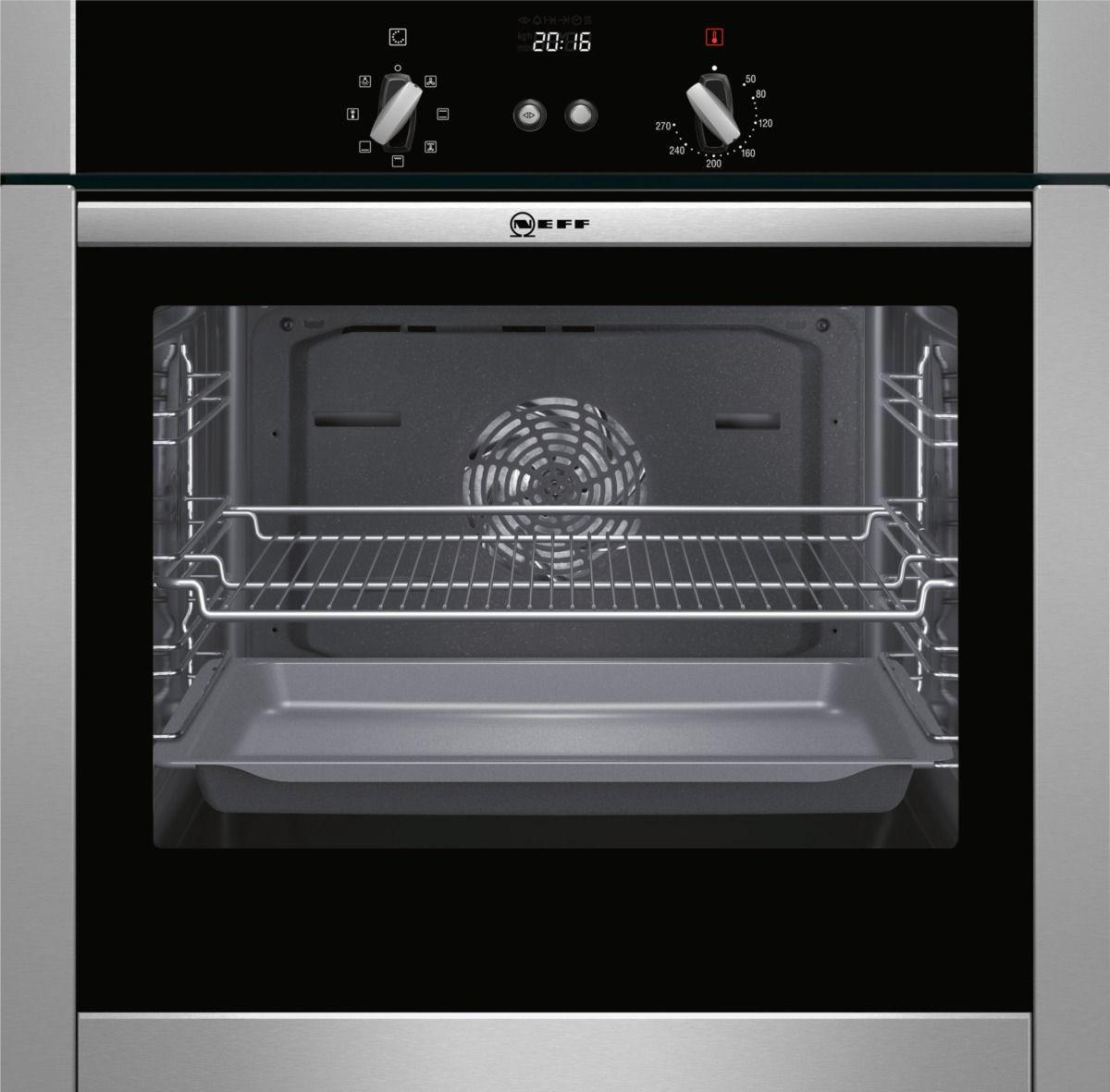 Neff B44m42n5gb Stainless Steel Electric Slide & Hide Single Oven