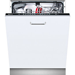 Neff S513G60X0G Integrated Built-In Dishwasher, White