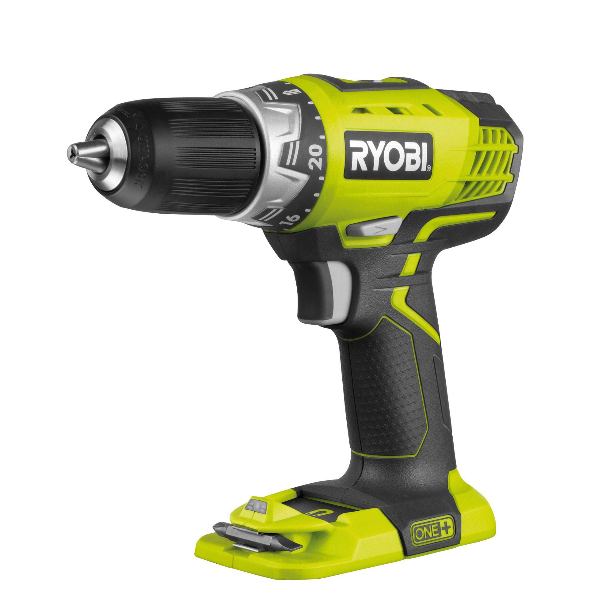 Ryobi One+ Cordless 18v Drill Driver Without Batteries Rcd1802m-bare