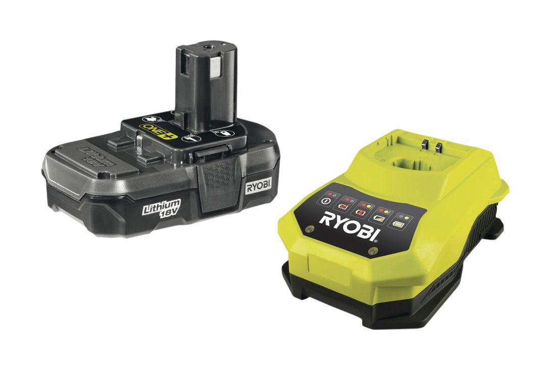 ryobi 18v li ion 1 3ah battery charger departments. Black Bedroom Furniture Sets. Home Design Ideas