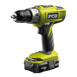 Ryobi One+ Cordless 18V Li-Ion Combi Drill 1