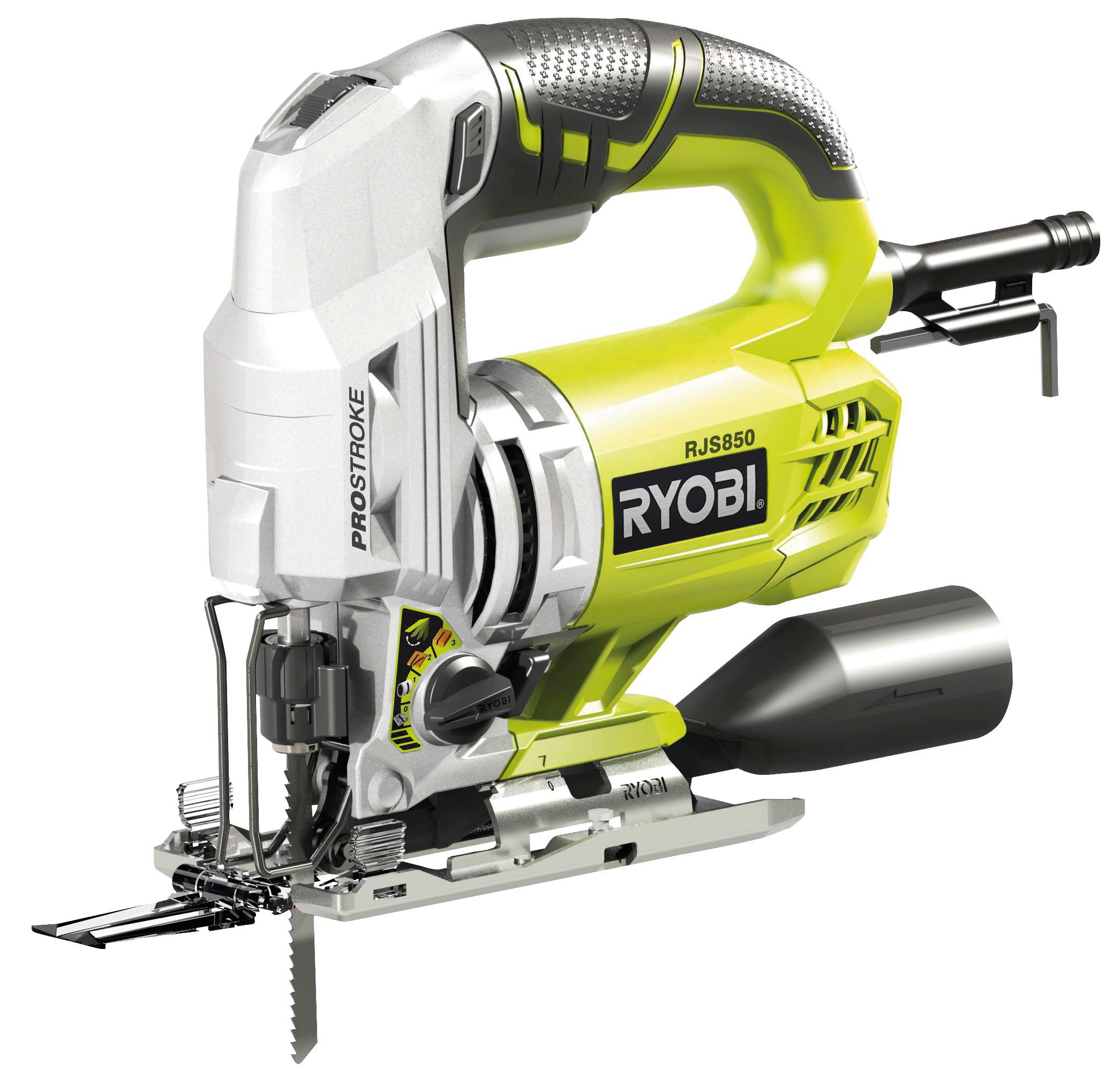 ryobi 600w 240v 4 stage pendulum action jigsaw. Black Bedroom Furniture Sets. Home Design Ideas