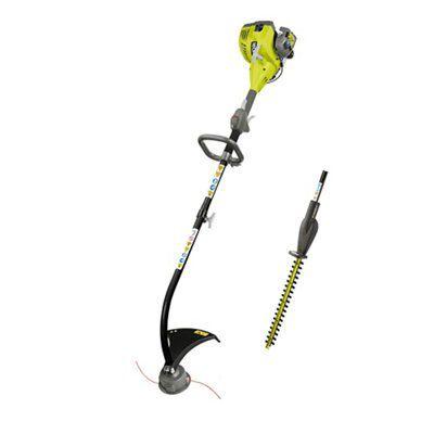 Ryobi Rlt26ht 26 Cc Petrol Grass Trimmer & Hedge Trimmer Kit