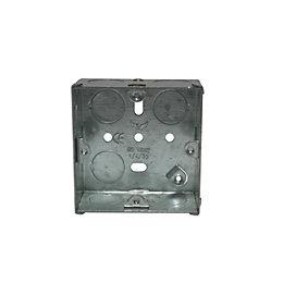 Holder 36mm Steel Single Pattress Box