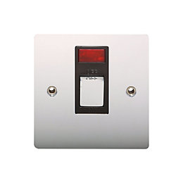 Holder 20A Chrome Effect Switch