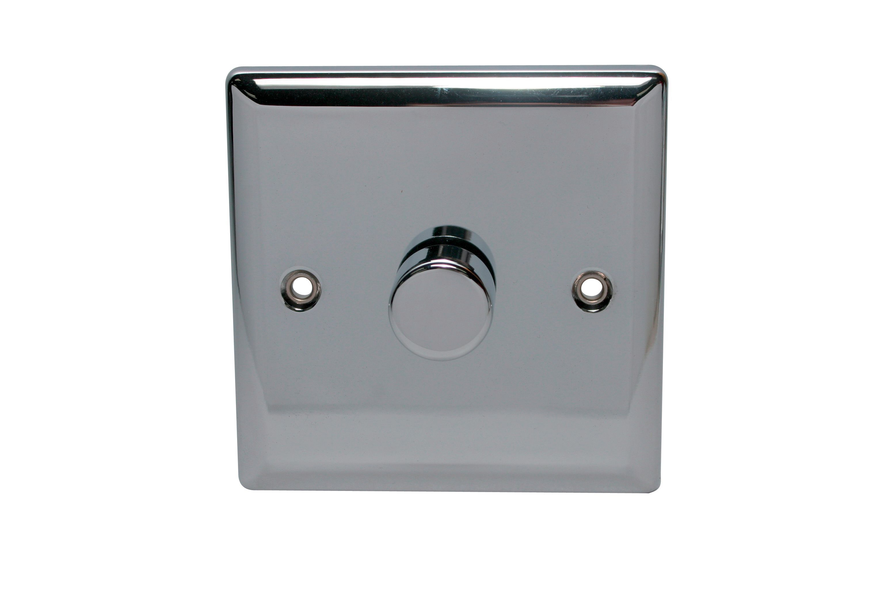 Holder 2-way Single Polished Chrome Dimmer Switch