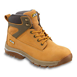 JCB Honey Nubuck Leather Steel Toe Cap Fast