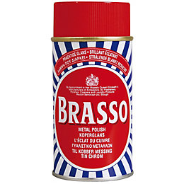 Brasso Liquid Brass Polish Can, 150 ml