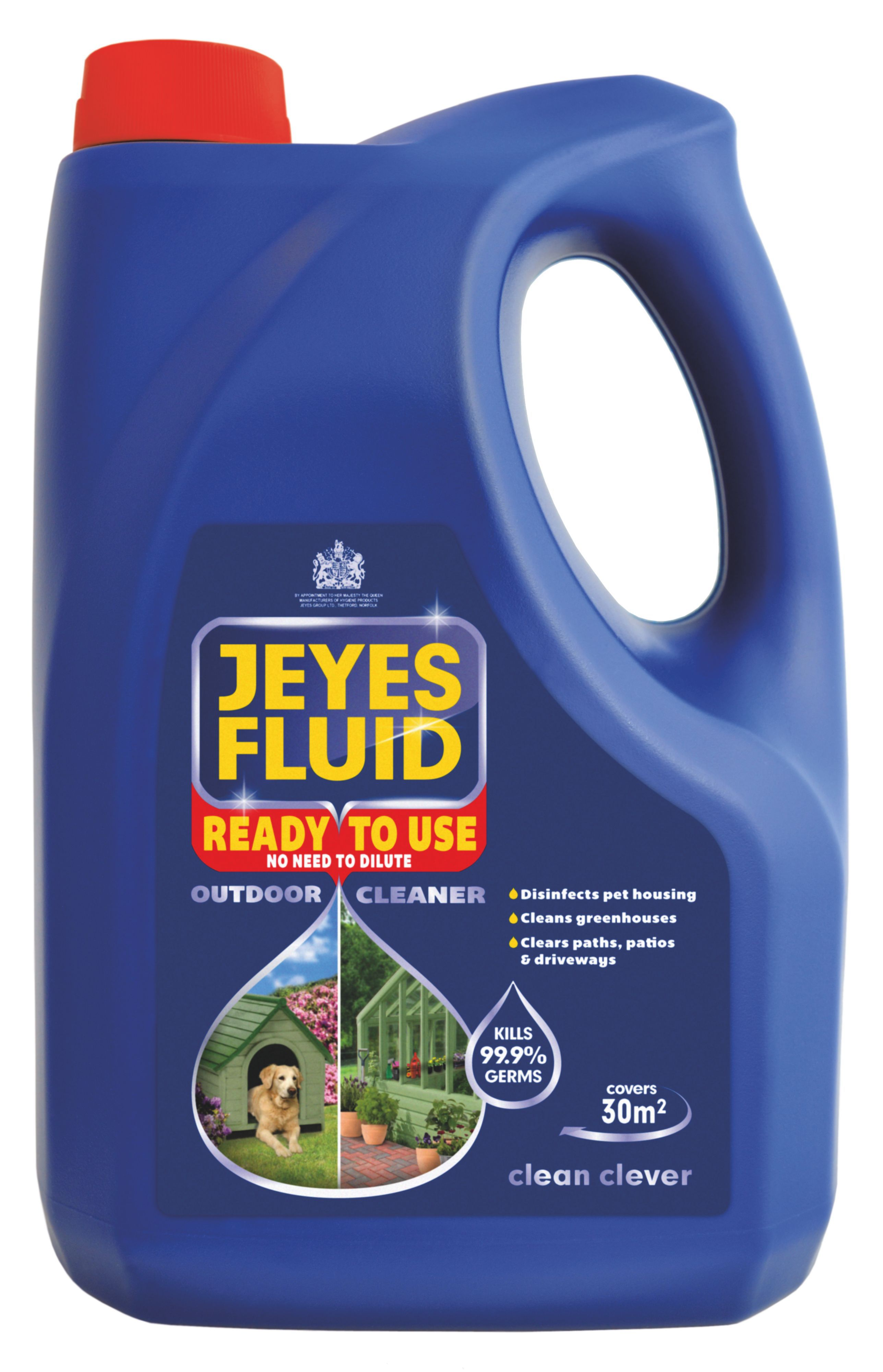 Leather jacket killer b&q - Jeyes Fluid Ready To Use Outdoor Disinfectant 4l Departments Diy At B Q