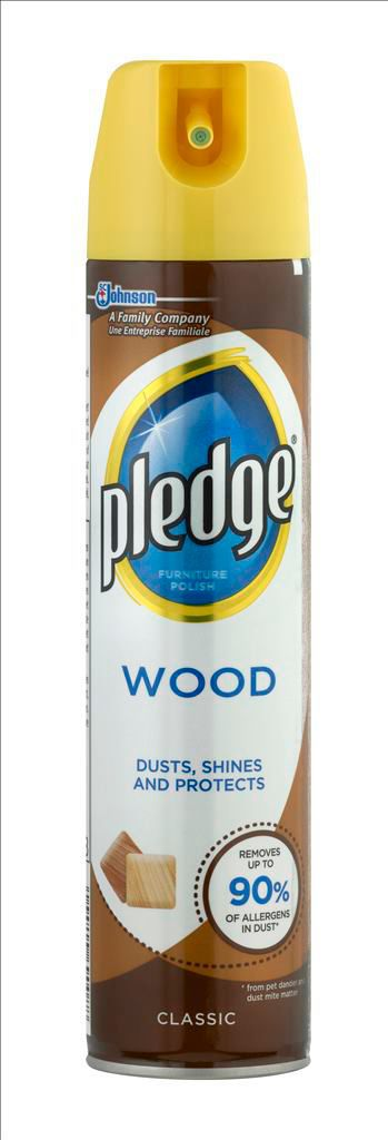 Pledge Wood Furniture Spray Aerosol 250 Ml Departments Diy At B Q