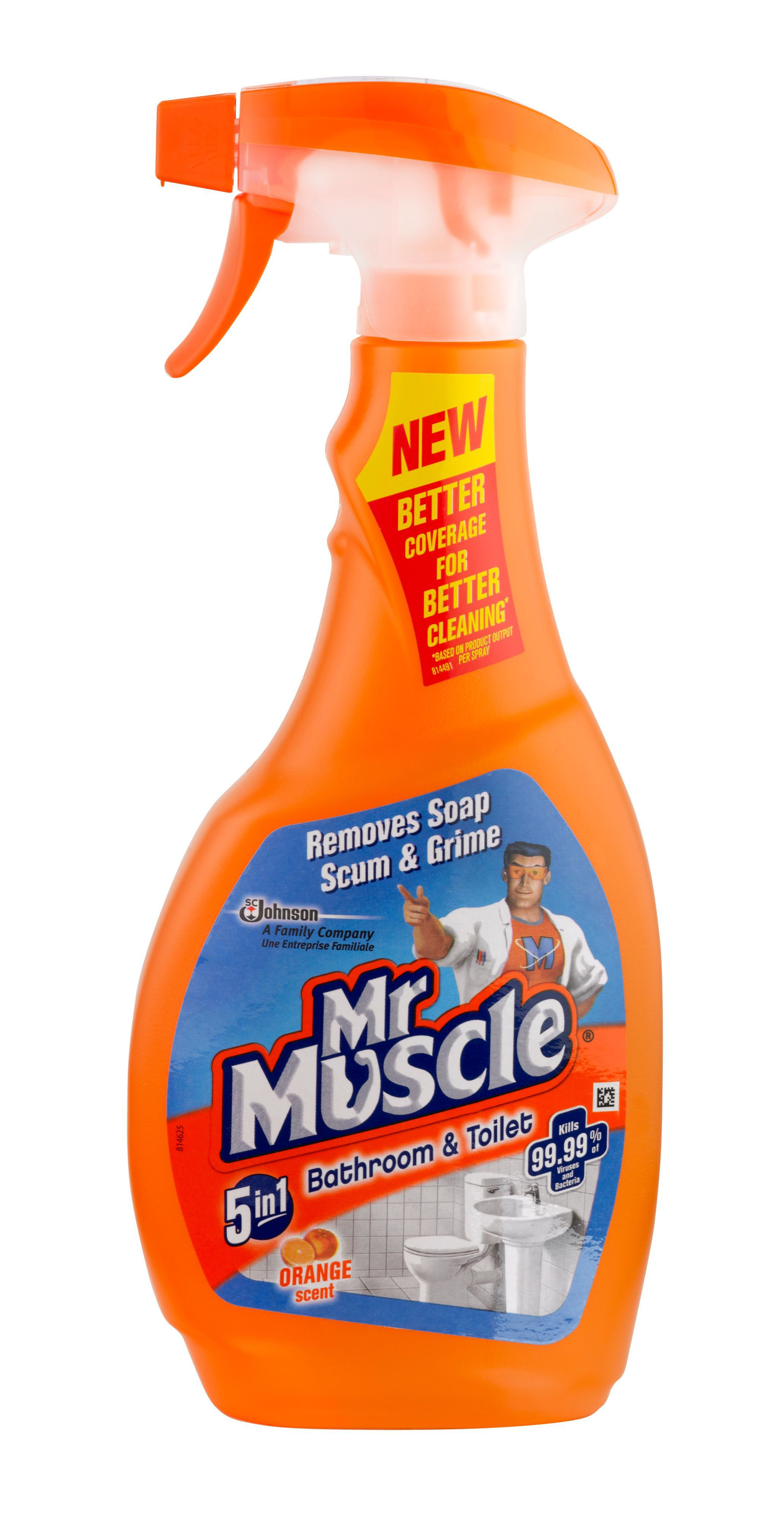 Mr muscle bathroom and toilet cleaner - Mr Muscle Bathroom Cleaner Bottle 500 Ml Departments Diy At B Q