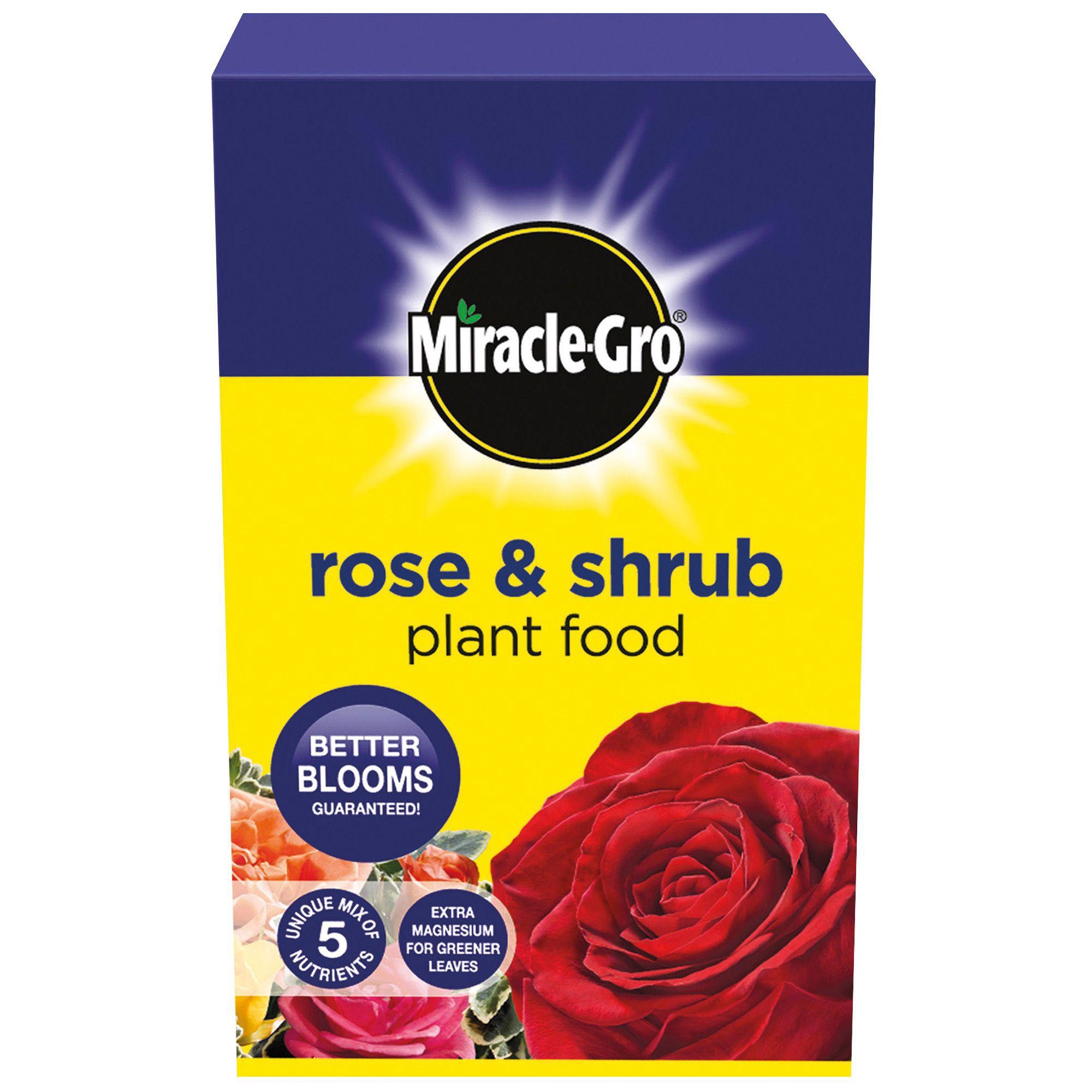 Miracle gro rose plus plant food 4kg departments diy for Diy rose food