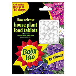 Baby Bio Slow Release Tablets House Plant Feed,