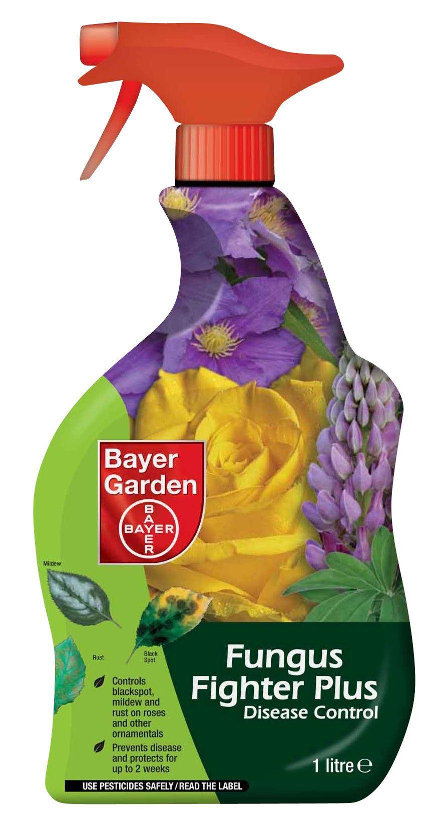 Bayer garden fungus fighter plus ready to use disease for Bayer garden
