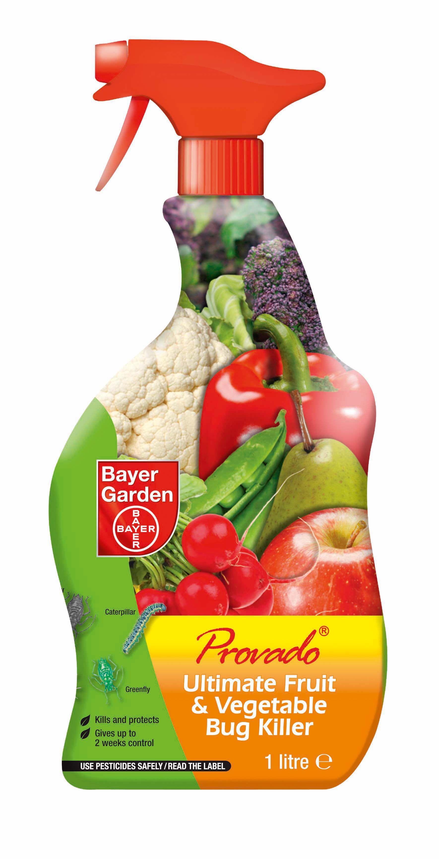 Leather jacket killer b&q - Provado Ultimate Fruit Vegetable Bug Killer 1 08l