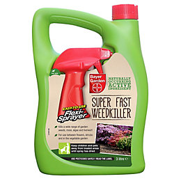 Bayer Garden Superfast Weed Killer 3L 3.26kg