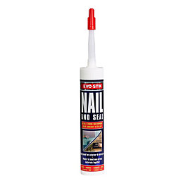 Evo-Stik Nail & Seal Solvent Free Grab Adhesive