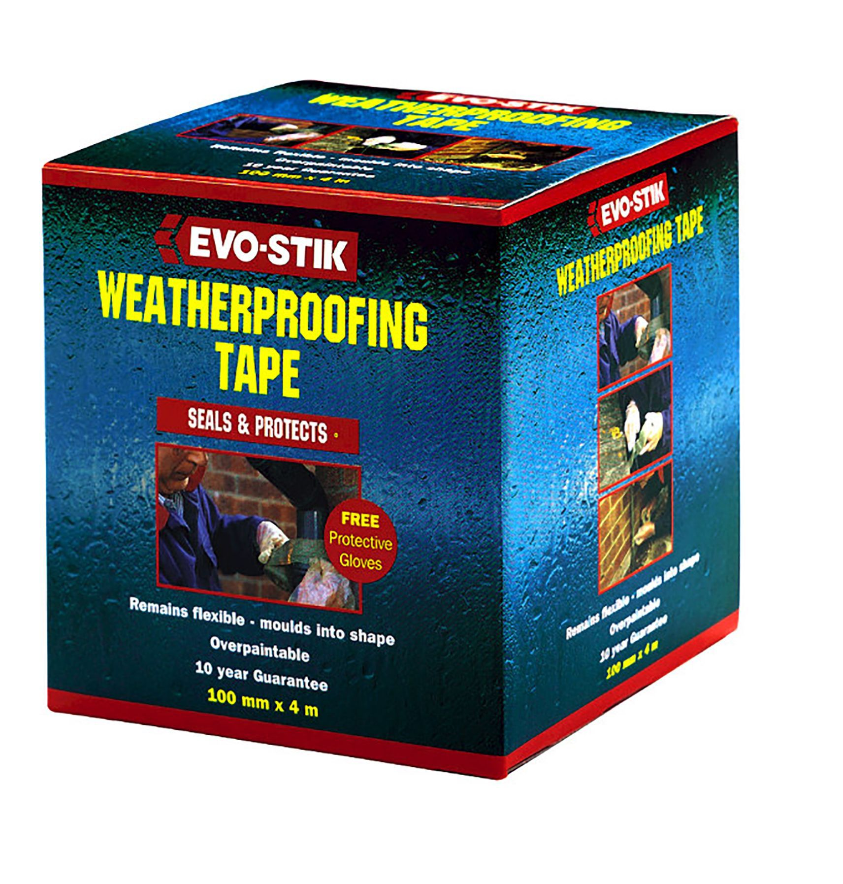 Evo-stik Weatherproofing Tape (w)75mm (l)4000mm