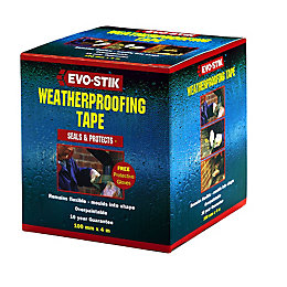 Evo-Stik Weatherproofing Tape (W)75mm (L)4m