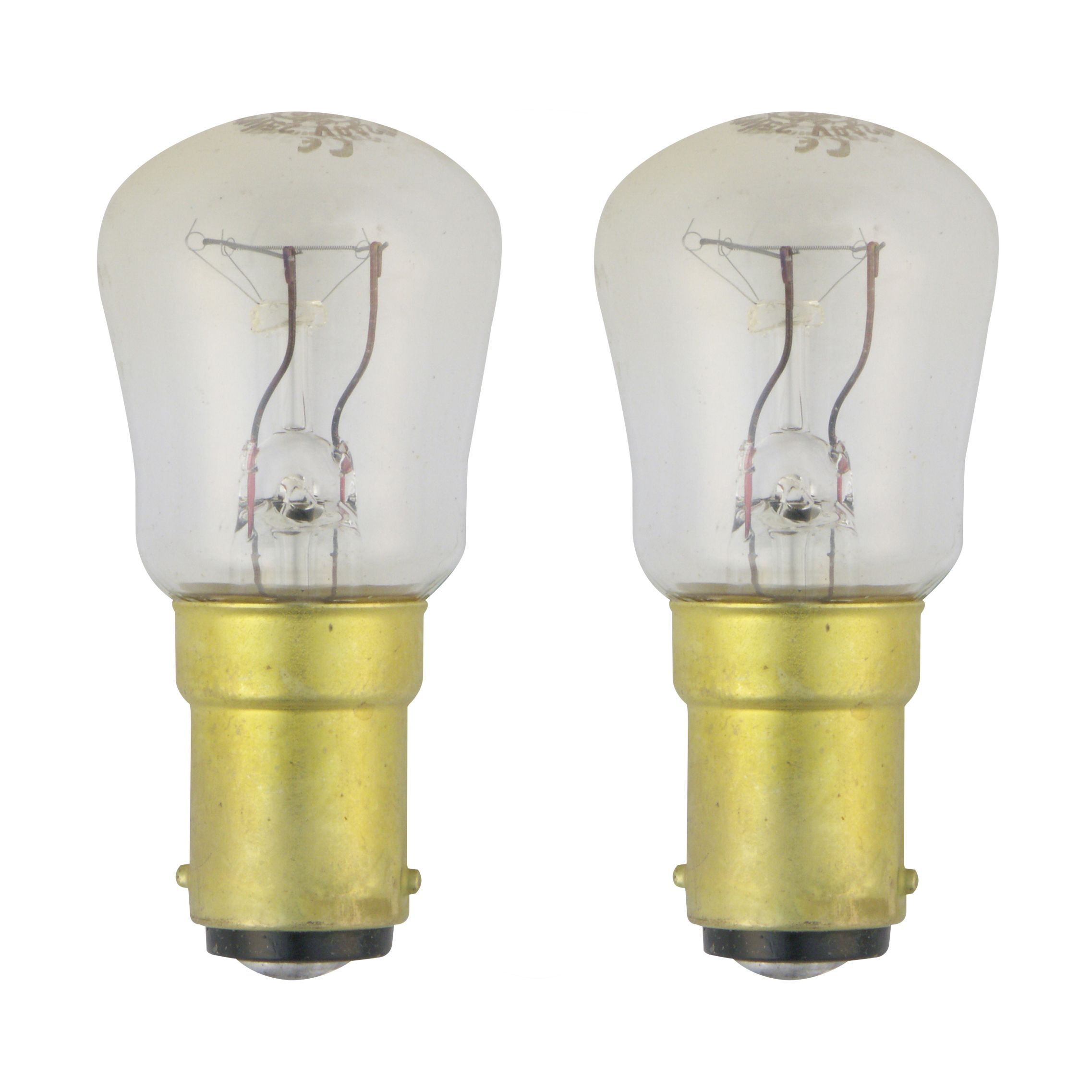 GE B15 15W Incandescent Dimmable GLS Light Bulb
