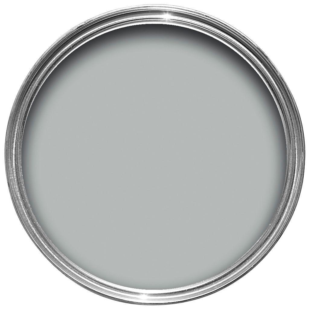 Crown Solo Interior Exterior Arctic Grey Gloss Wood Metal Paint 750ml Departments Diy