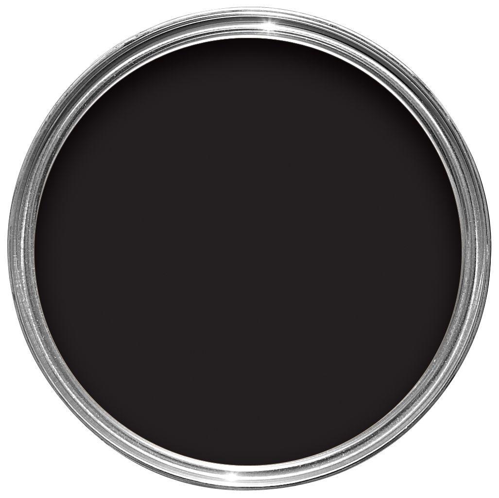 Sandtex One Coat Exterior Black Gloss Wood & Metal Paint 750ml