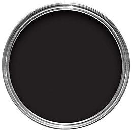 Sandtex One Coat Exterior Black Gloss Wood &