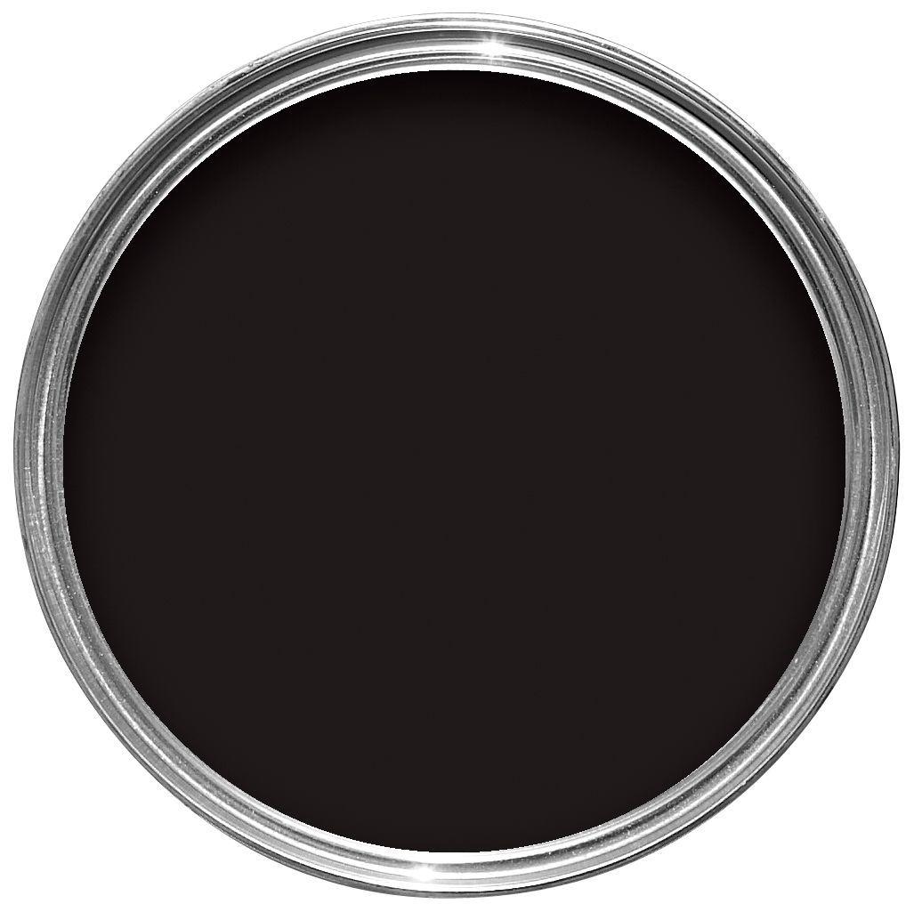 Sandtex One Coat Exterior Black Gloss Wood & Metal Paint 2.5l