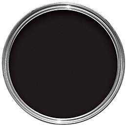 Sandtex One Coat Exterior Black Gloss Wood &