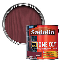 Sadolin Mahogany Semi-Gloss Woodstain 2.5L