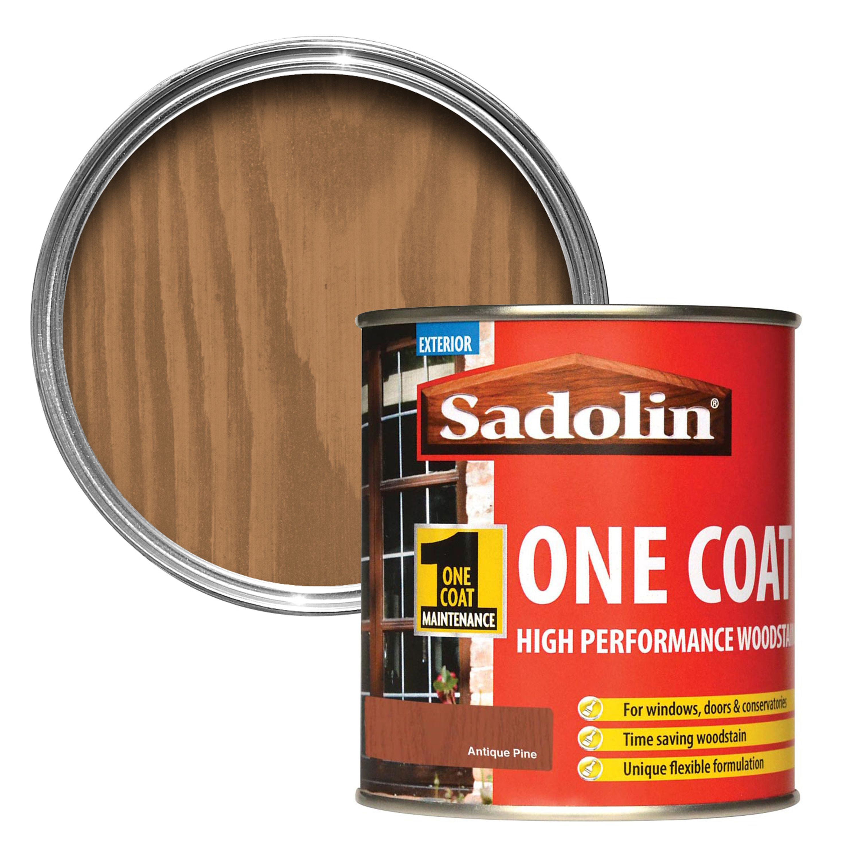Sadolin Antique Pine Semi-gloss Wood Stain 0.5l