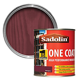 Sadolin Mahogany Semi-Gloss Woodstain 0.5L