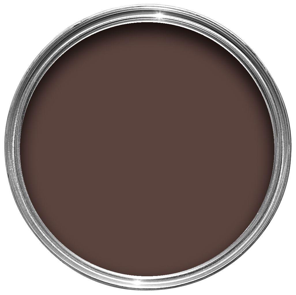Sandtex Exterior Brown Gloss Wood & Metal Paint 750ml
