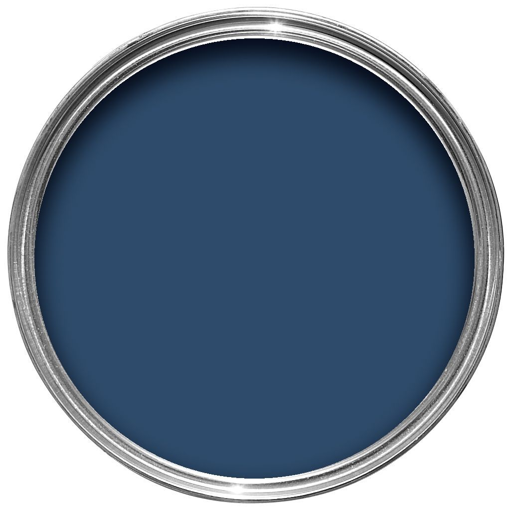 Sandtex Exterior Oxford Blue Gloss Wood Metal Paint 750ml Departments Diy At B Q