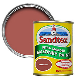 Sandtex Terracotta Matt Masonry Paint 150ml Tester Pot