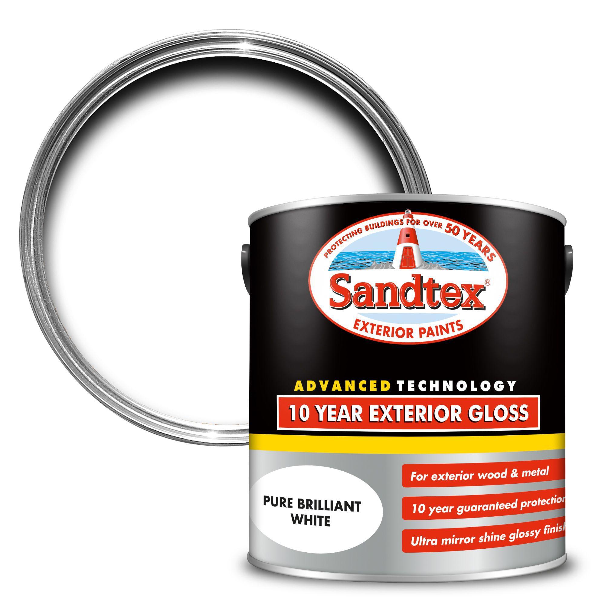 Diy at b q for Sandtex 10 year exterior gloss