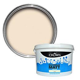 Crown Magnolia Matt Emulsion Paint 10L